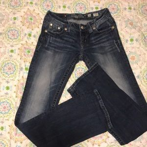 """Miss Me jeans size 26, 33"""" inseam"""